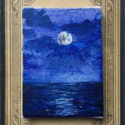 Mini toile de Lune