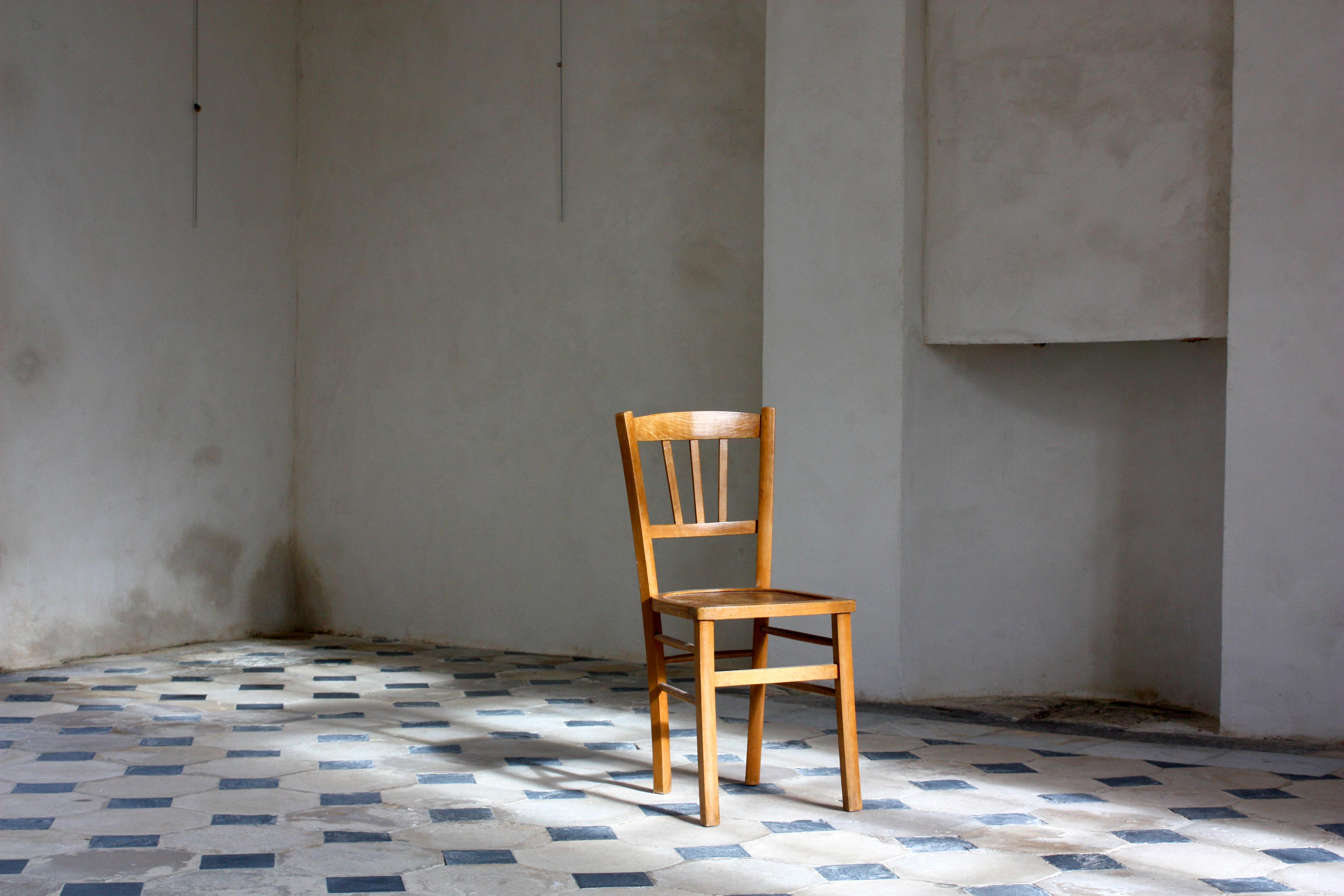 La chaise (80€)
