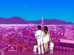 Portrait de famille Paris - Caracas (commande)