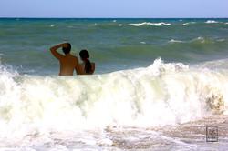 Bain de mer - Crète - Available in shop