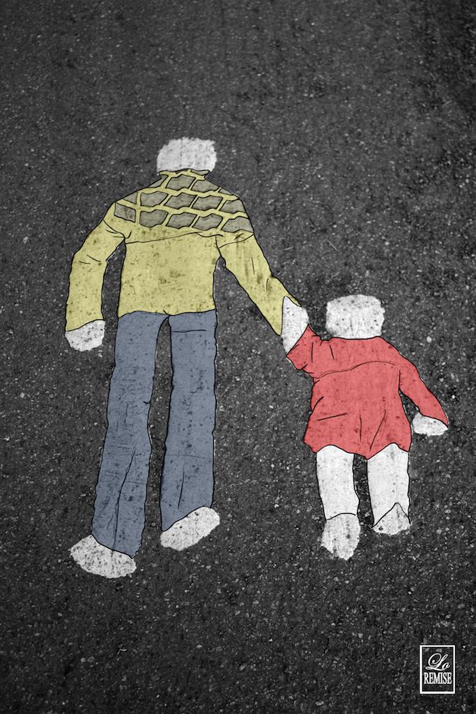 Père et fille - Helsinki - Available in shop