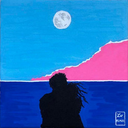 Lever de Lune - 2 versions (one of them available in shop)