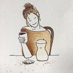 Gorgée de café