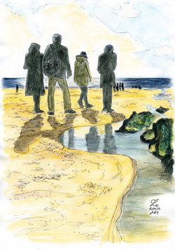 Baie d'Ecalgrain - Portrait de famille