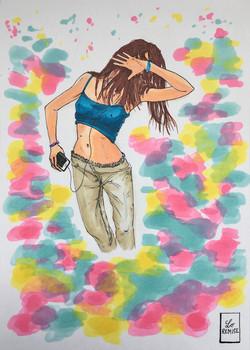 Autoportrait dansant - Available in shop