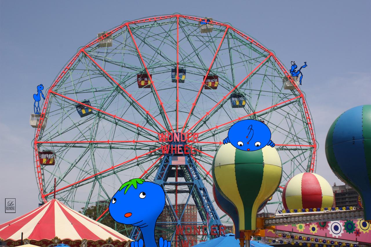 Wonder Wheel - Coney Island (100€)