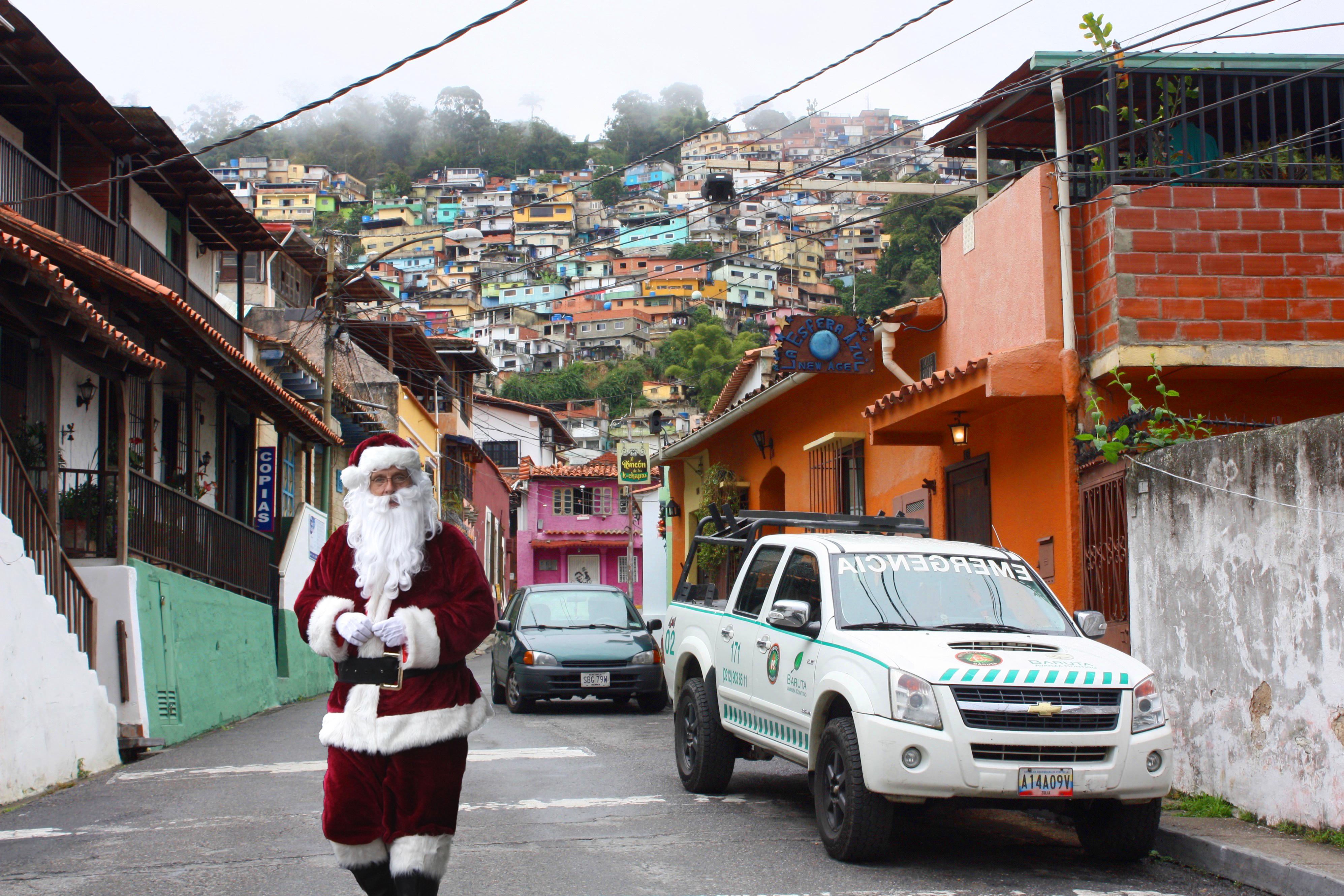 Père-Noël à Caracas (150€)
