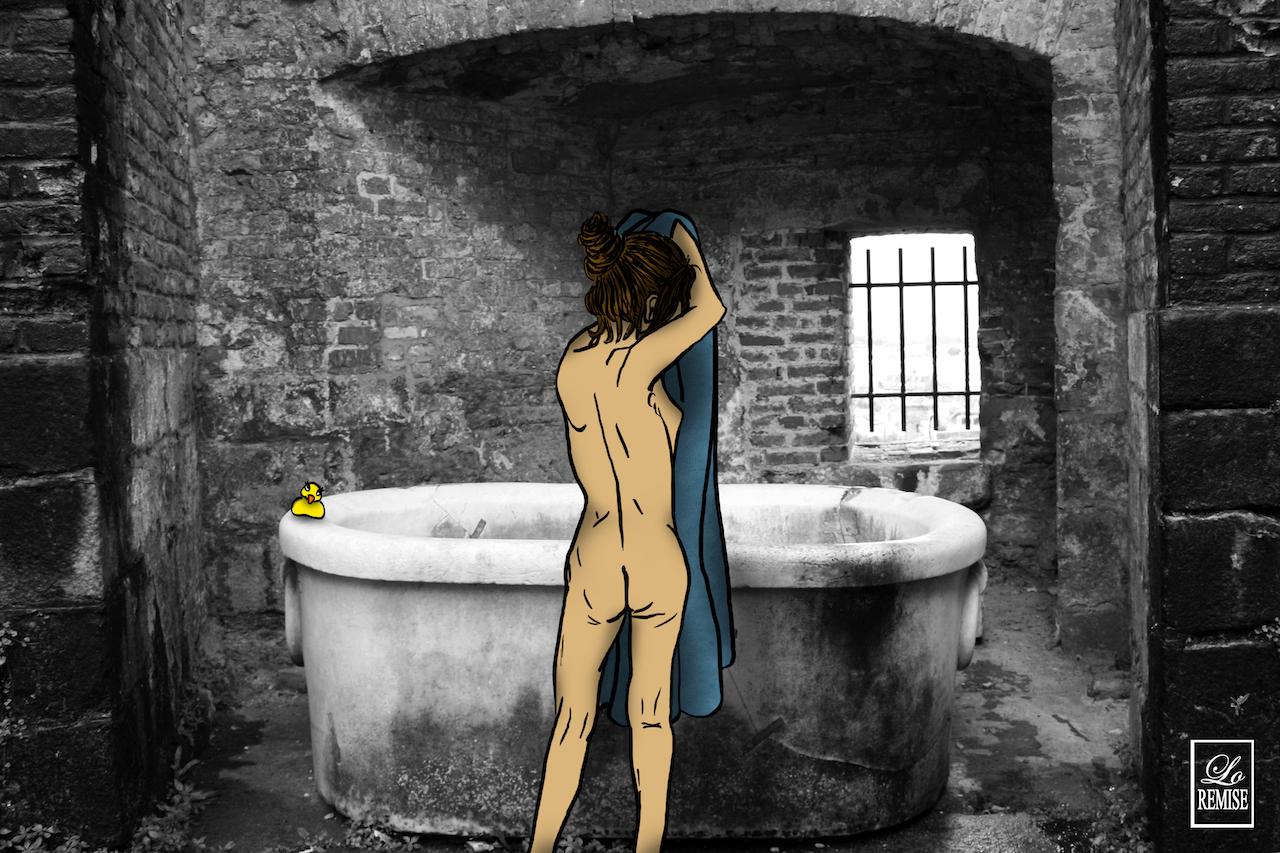 L'heure du bain - Normandie - Available in shop