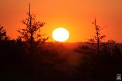 Coucher de soleil avant la nouvelle Lune (75€)