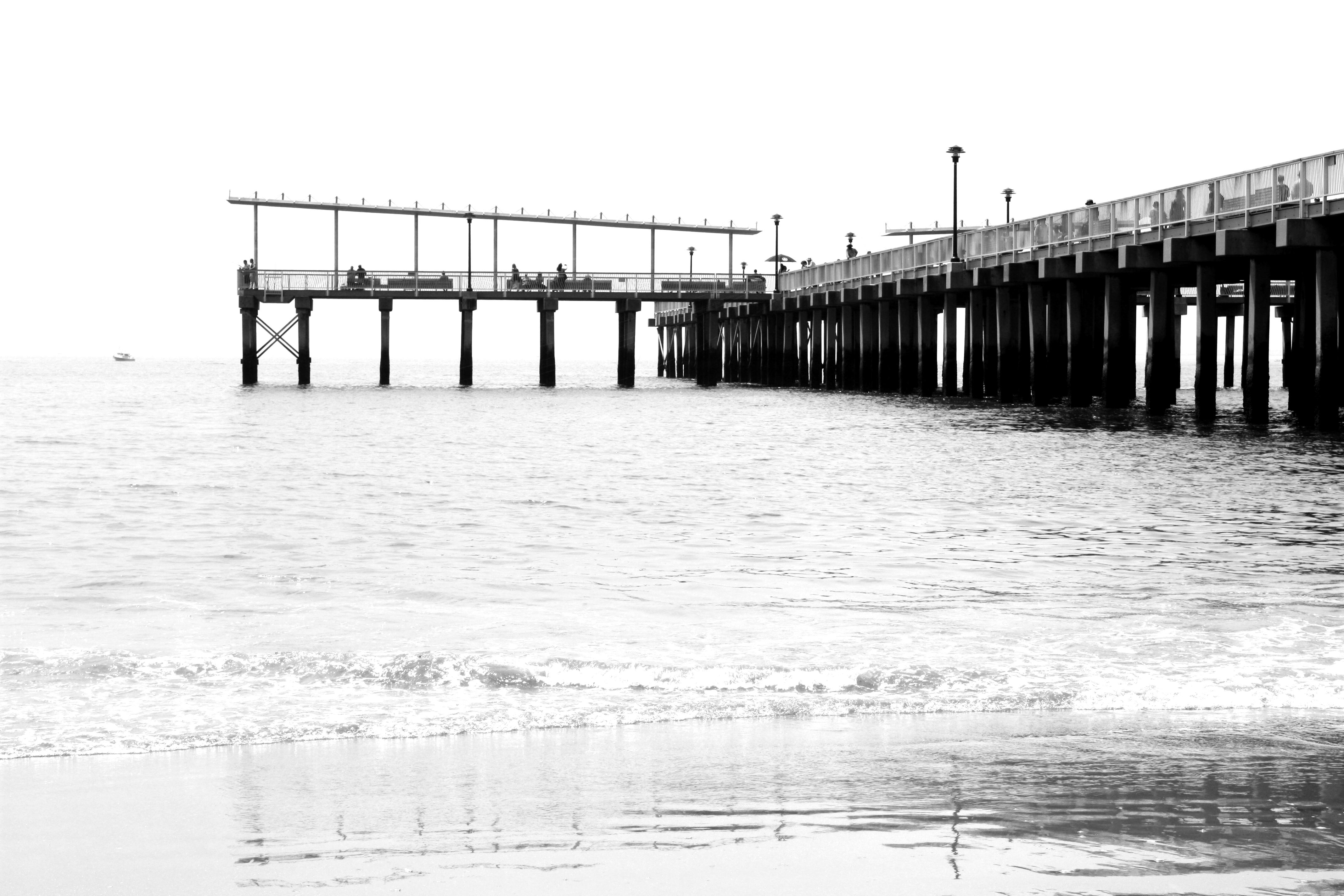 Coney Island en noir et blanc (50€)