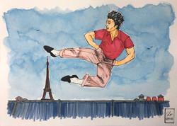 Danseur au sommet - Available in shop