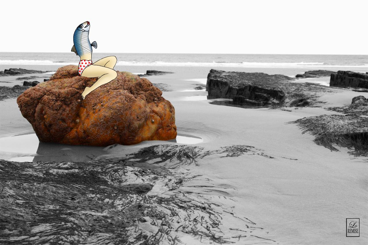 Femme poisson - Normandie (150€)