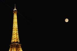 La Tour-Eiffel et la Lune (90€)