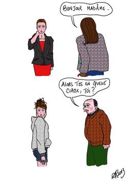 Mademoiselle ou Madame ?