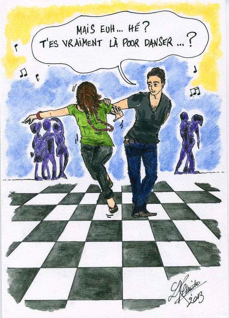 T'es là pour danser ?