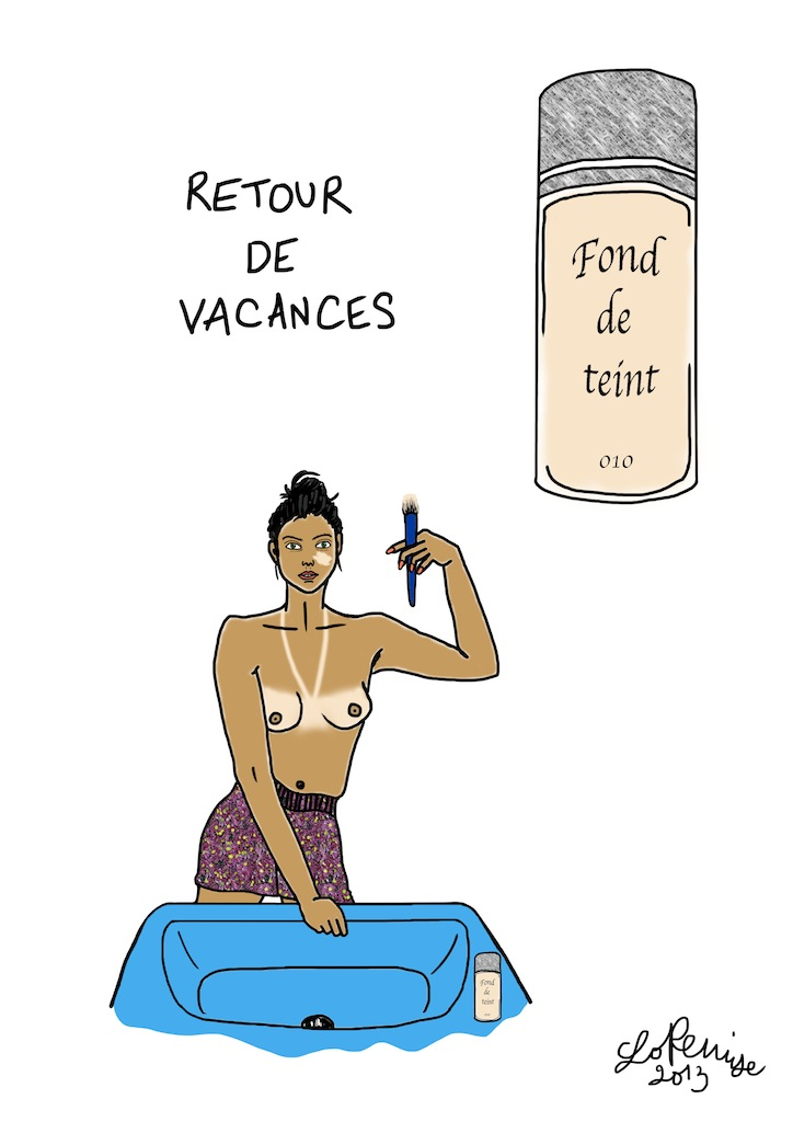 Retour de vacances - Available in Shop