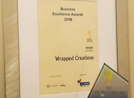 Wrapped Creations - Best Tourism Award