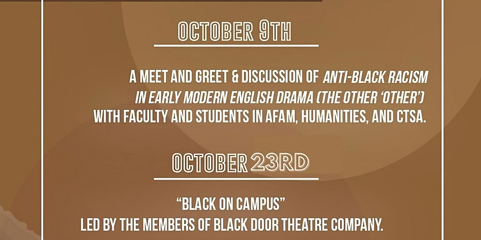 Anti-Black Racism in the Arts with Dr. Matthieu Chapman