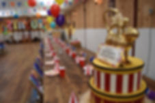 Circus Table Centrepieces