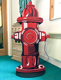New York Fire Hydrant Prop