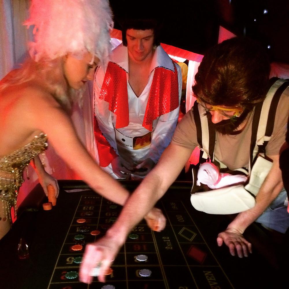 Las Vegas Party hire London