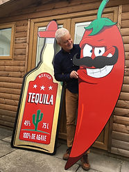 Giant Red Chili Prop Hire