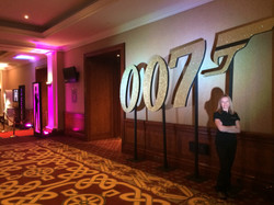 007 Glitter Prop Hire