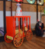 Circus Party Cake Table_ Caged Wagon Pro