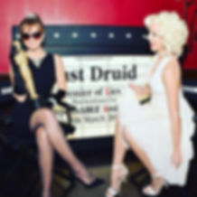 Audrey Hepburn and Marilyn Monroe at the