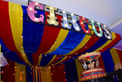 Light up Circus Sign Prop Hire