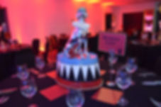 Circus Plinth Table Centrepiece Hire