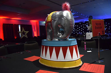 Elephant Table Centrepiece Hire