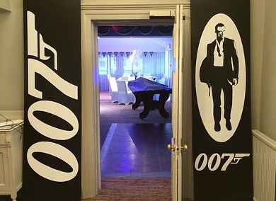 James Bond Spectre Prop