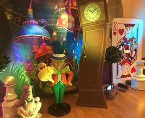 Mad Hatter Themed Prop Hire