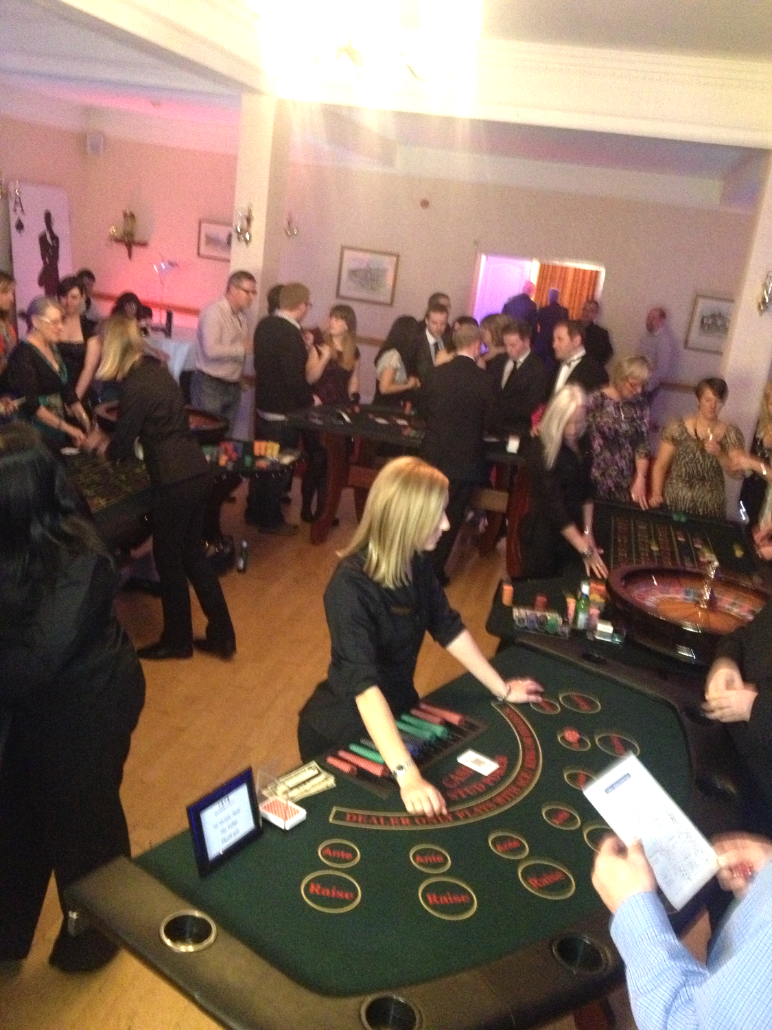 Glen Yr Afon Casino Party.