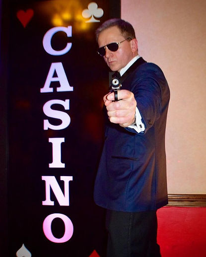 Casino Royale party Hire London