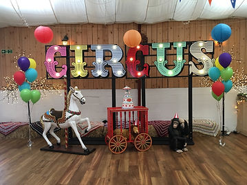 Children's Circus Themed Party