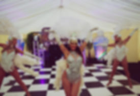 Showgirl Dancer Hire Celtic Manor and IC
