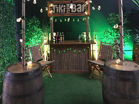 Tiki Bar Garden Party Hire