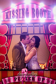 kissing booth prop hire uk
