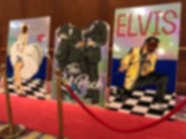 Las Vegas & Hollywood Peep Through Board
