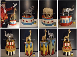 Circus Table Centrepieces for Hire