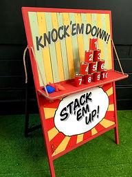 Knock em Down, Stack em Up, Tin Can Alle