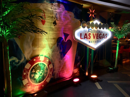Las Vegas Themed Parties Cardiff