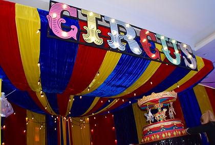 Circus Sign Prop Hire