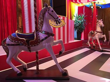 Carousel Horse prop Hire