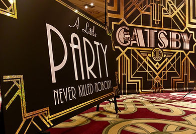 Gatsby Backdrop Hire