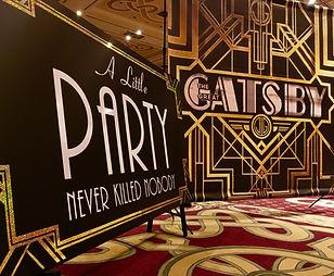 Gatsby Backdrop Hire