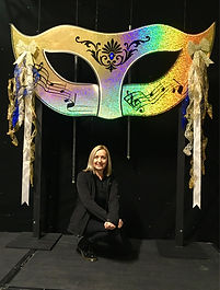 Giant Masked Ball Prop Hire