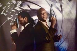 007 Bond Backdrop